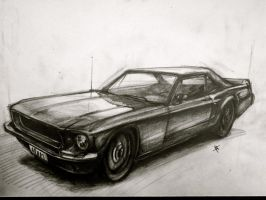 Mustang by Spookylittleman