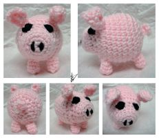 Little Pink Piggie by supermawee-wee