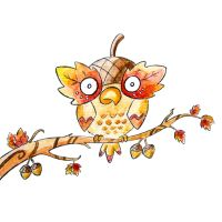 Monster of the Day #667 Acorn Owl by jurries21