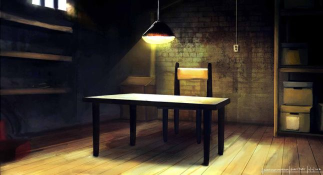 The Interrogation Room by SPyWorkz