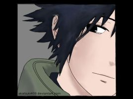 Sasuke: Coloured by akatsuki409