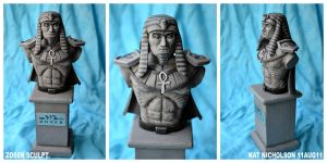 Zoser Bust - ALT. VID ADDED by KatCardy