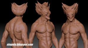 Zbrush Character - Lord Xachamial WIP #2 by Shapula