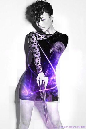Sunye - Wonder Girls Cyborg AU