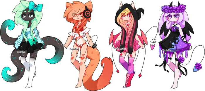 Adoptables Batch 17: CLOSED by Fawniive
