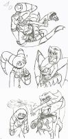 Cake Fight by Mariogal