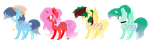 Mlp Adopts 2 (1/4 OPEN) by puddycat431