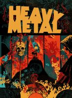 Heavy Metal magazine cover contest by DiegoTripodi