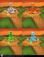 Power Totems by designfxpro
