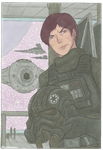 The grumpiest pilot in the Empire. by MidoriNoHonoo