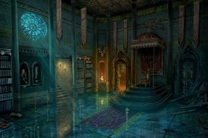 Throne room by RealNam