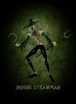 Joshing Strawman by silentscarecrow
