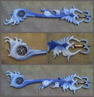 Brightcrest keyblade by finaformsora