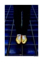 Gold Shoes by thejamcascru