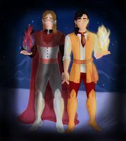 Heroic Academy: Darkness and Light by Rai-Knightshade