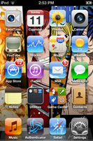 Preview Fairy Tail Wallpaper for iPhone and iTouch by dotKustomize