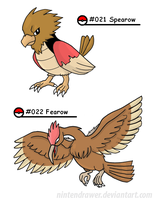 Pokedex 21-22 by Nintendrawer