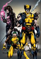 X-Men by Marcio by MarcBourcier