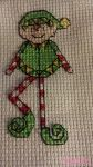 Happy Little Elf - Cross Stitch by laaputa