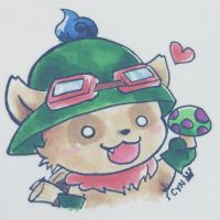 [LOL] Teemo - The Swift Scout by absolut-zero