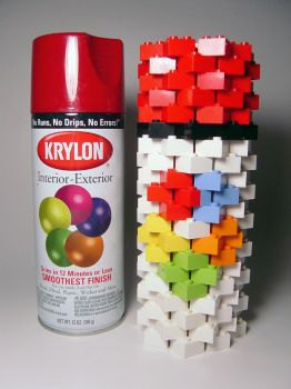 LEGOsol Spray Paint Can by DavidHoffmann