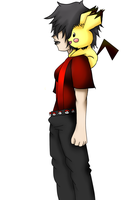 yuki and her pichu by gamzee1