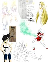 Sketch dump 2011 by lilkty