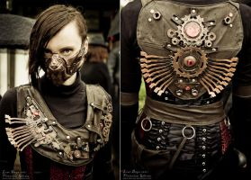 Steampunk 1st costume by bt-v