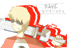 Dave Strider - Homestuck by LaWeyD