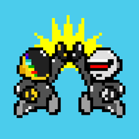 Super high5 Daft Bros. by RicardoSudario