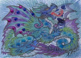 ACEO Dragon 17 by rachaelm5
