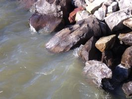 Rocks in water. by Imperius-Rex