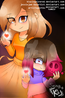 Like Mother, like Daughter | Glitchtale (COLLAB!) by JessieJAM-TheArtist