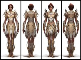 More Paragon Female Design by jasonj05