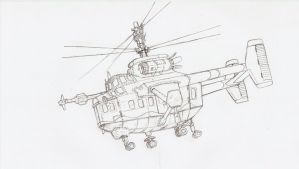 Colonial coaxial helicopter by dan338