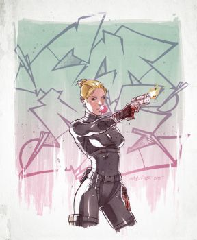 Spec Ops Cassie Cage. by Fezat1