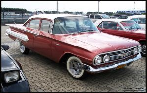 1960 Chevrolet Belair by compaan-art