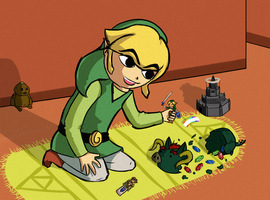 Toon Link by Dragonfly929