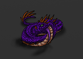 Verden-Lesser Wyrm by Scatha-the-Worm