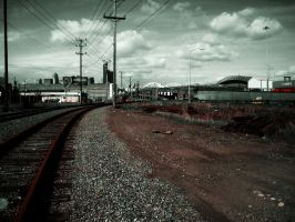 abandoned rails of seattle by darkenmind66