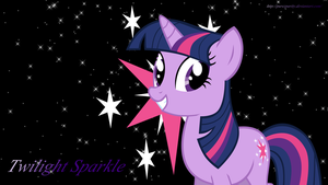 Twilight Sparkle wallpaper(Style 2) by PureZparity