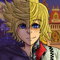 Double Roxas by Pon3Splash