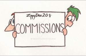 Commissions (update)-ALL SLOTS FULL by ZippyDee20