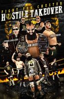 WFC Hostile Takeover official poster by Mohamed-Fahmy