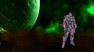 Conquerors of the Green Nebulae (Platoon 4) by emperorkk