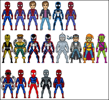 Spiderman The Animated Series by dannysmicros