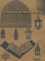 ramadan gimp brushes by ahmadhasan