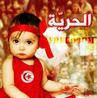 freedom for Tunisia by mzawer