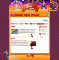 Fete Foraine Francaise blog by shark-graphic