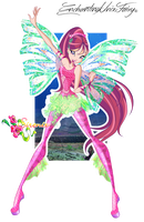 WINX: Roxy Sirenix + SpeedPaint!! by EnchantingUnixFairy